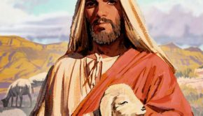 illustration of Christ as the good shepherd lds