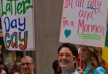 lgbtq Mormons march