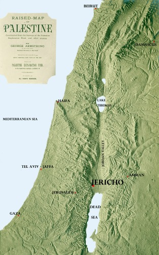 map of Jericho area