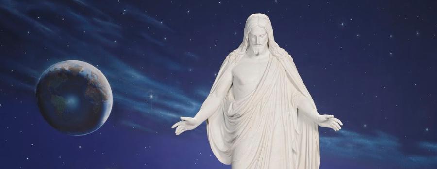 Photo of Christus statue.