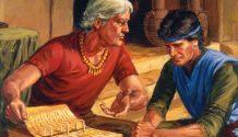 Alma teaching Corianton.