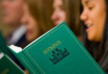 hymnbook singing mormon