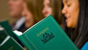 hymnbook singing mormon