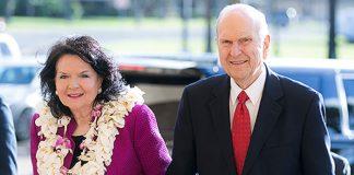president sister nelson mormon