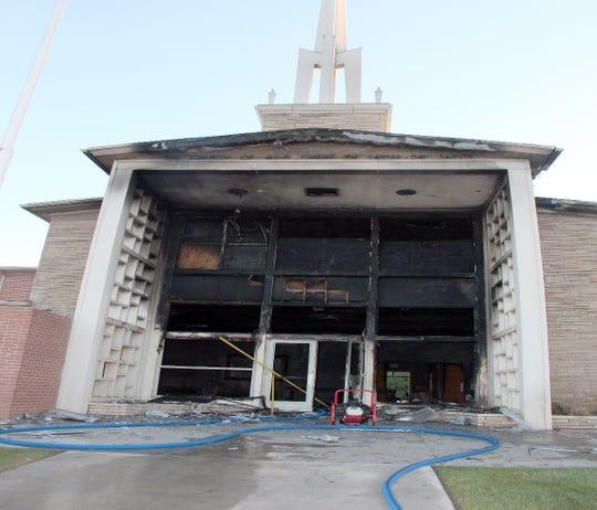 chapel fire