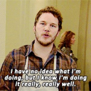 Andy Dwyer Parks and Recreation I don't Know what I'm doing