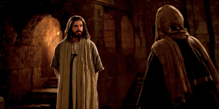 Christ and Nicodemus.