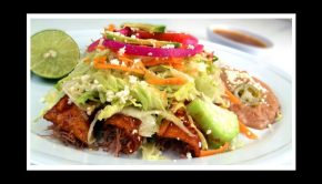 enchilada onion plate meal