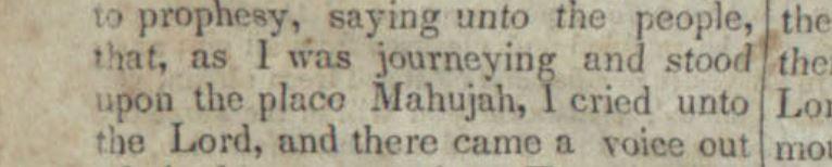 Enoch story in early newspaper.