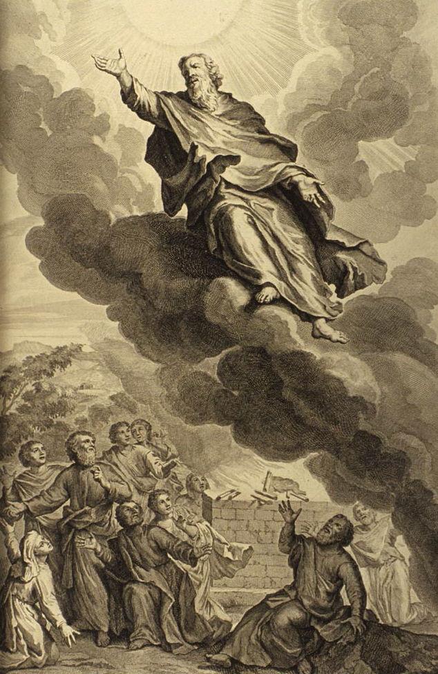 Artwork of the prophet Enoch.