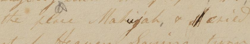 Enoch manuscript text.