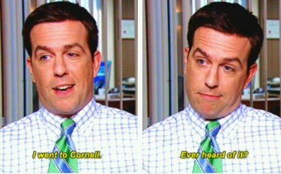 Andy Bernard NBC the office cornell