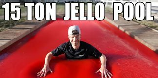 jello pool mark rober