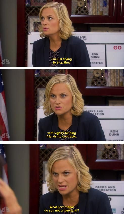 Leslie Knope Parks and Rec
