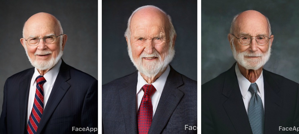 First Presidency bearded.