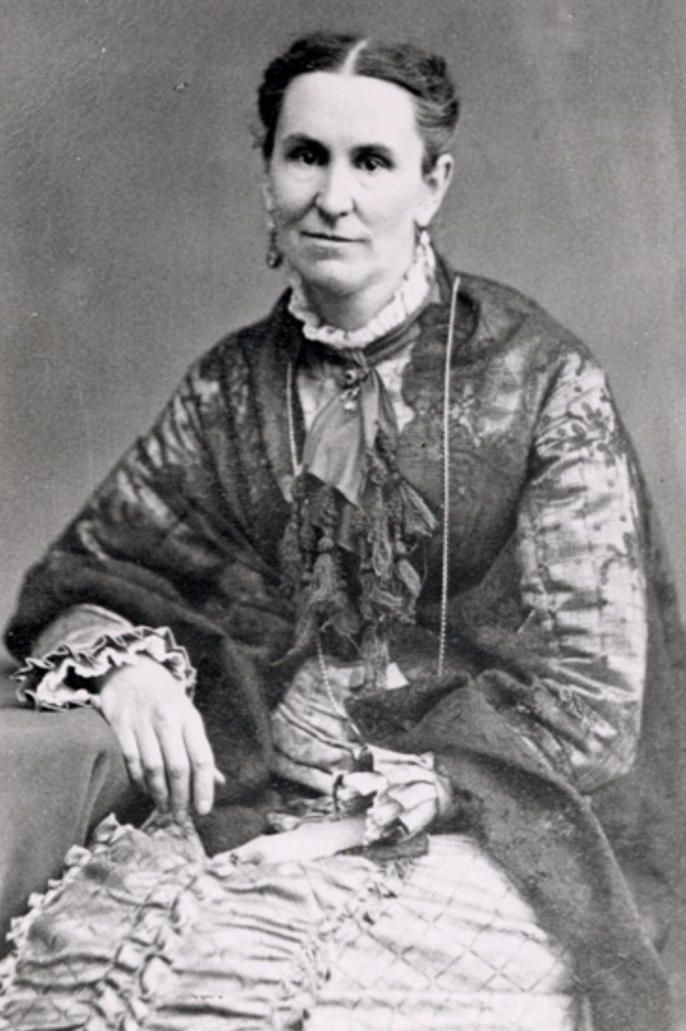 Helen Mar Kimball portrait, a Mormon.