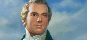 Joseph Smith painting, prophet.