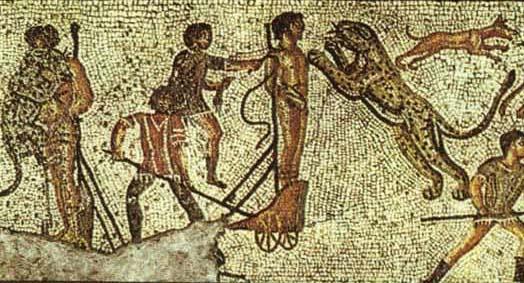 Zliten leopard mosaic