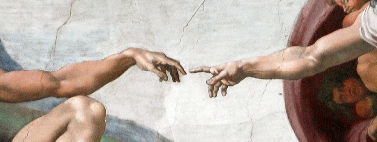Hand of God and Adam