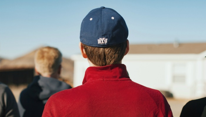 byu cap student red