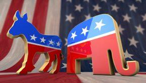 politics donkey elephant
