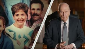 Russell M. Nelson (Mormon prophet) and Trudy Olmstead.