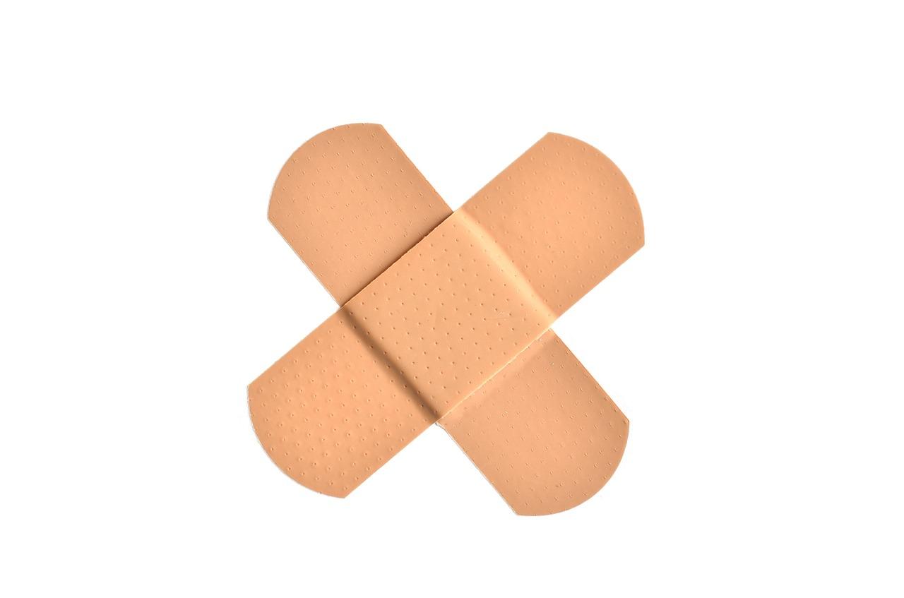 bandage healing