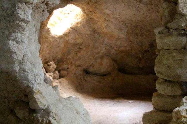 cave in Bethlehem