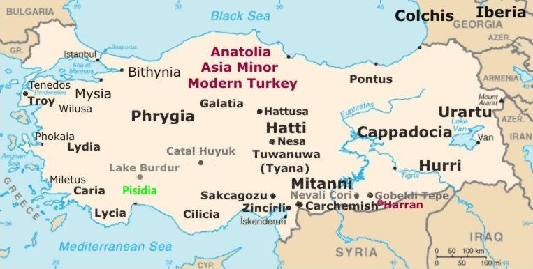 map of ancient anatolia