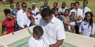 baptism africa