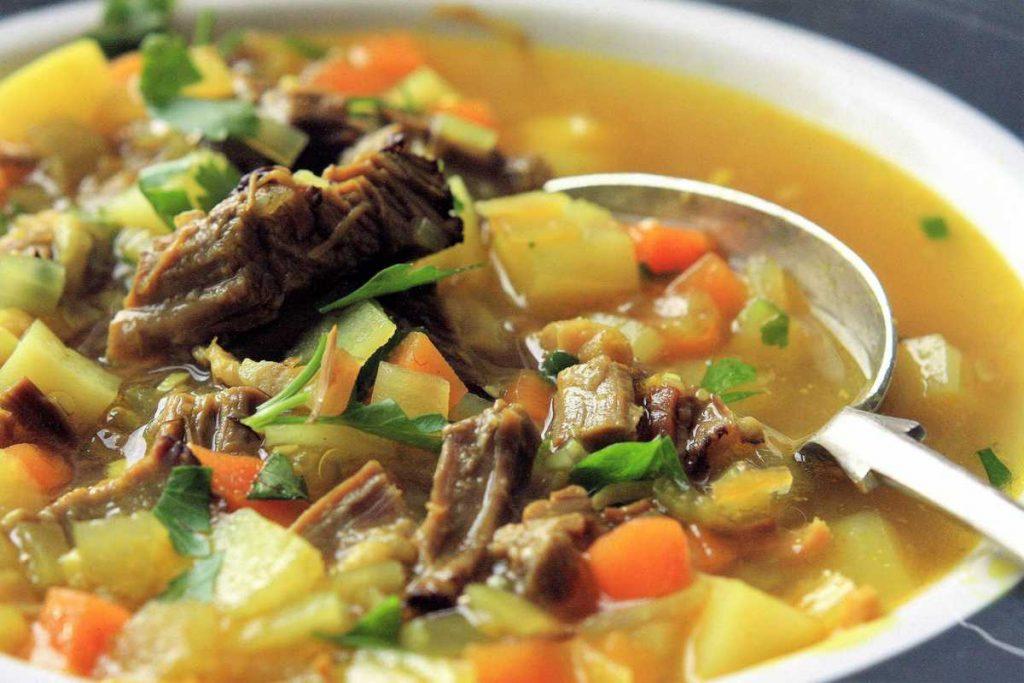 beef mulligatawny soup
