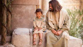 Jesus with child