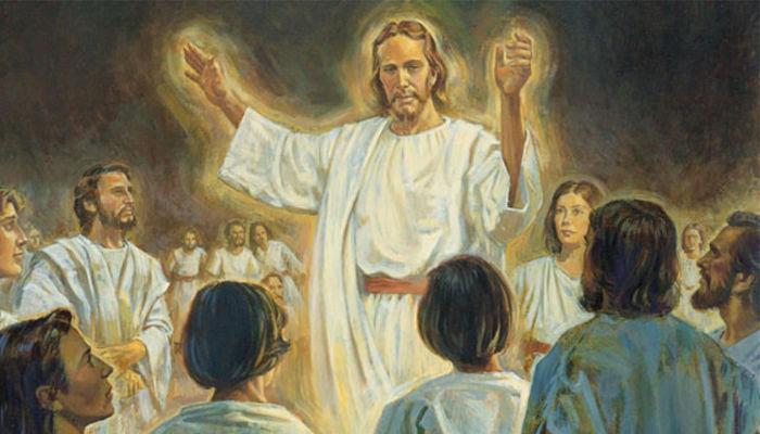 Christ preaching in the spirit world