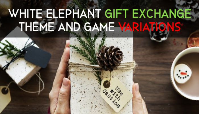 white elephant gift exchange variations