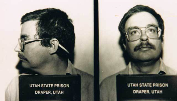 Mark Hofmann (Salamander Letter forger) mug shots.