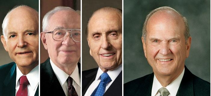 Latter-day Saint (Mormon) prophets.