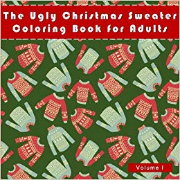 ugly christmas sweater coloring book