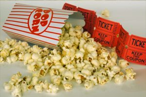 movie popcorn family
