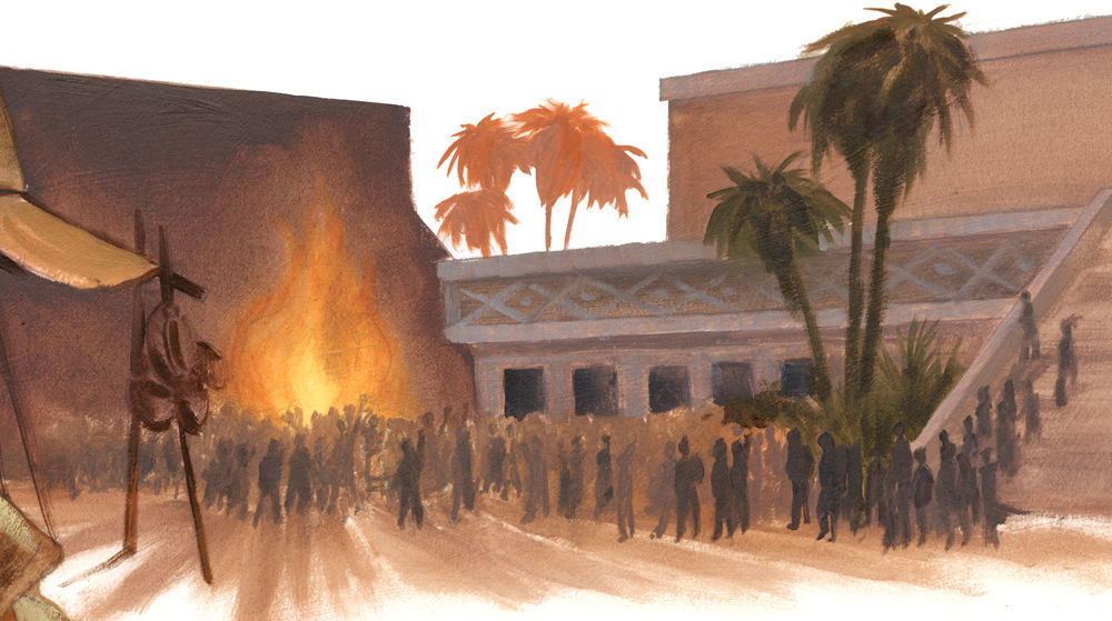 Book of Mormon fire Ammonihah