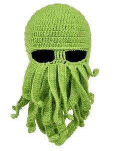 octopus crochet hat