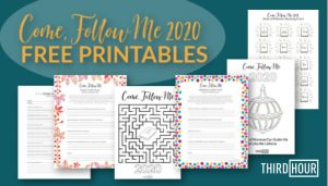 come follow me free printables