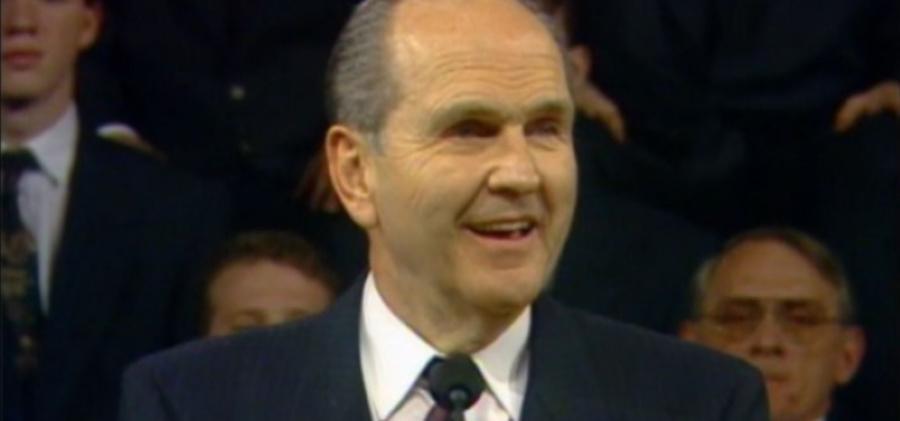 Elder Russell M. Nelson.