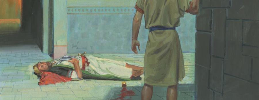 The prophet Nephi finds Laban in Jerusalem.