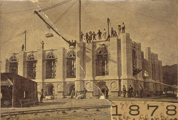 Photo of Salt Lake City Temple construction