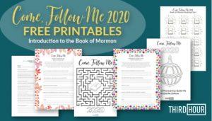 come follow me 2020 free printables