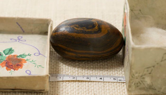 Photo of Joseph Smith's seer stone.