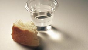 Sacrament bread and water