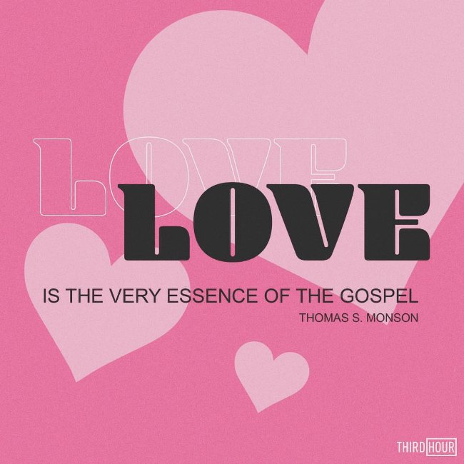 love is the essence of the gospel quote