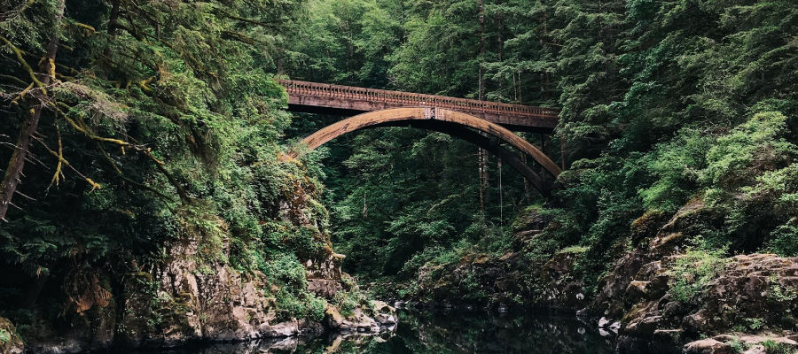 A photo of a bridge.