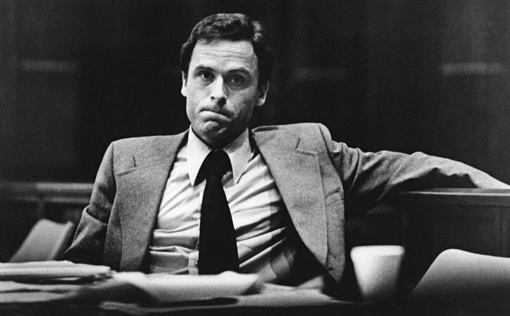 Ted Bundy sitting